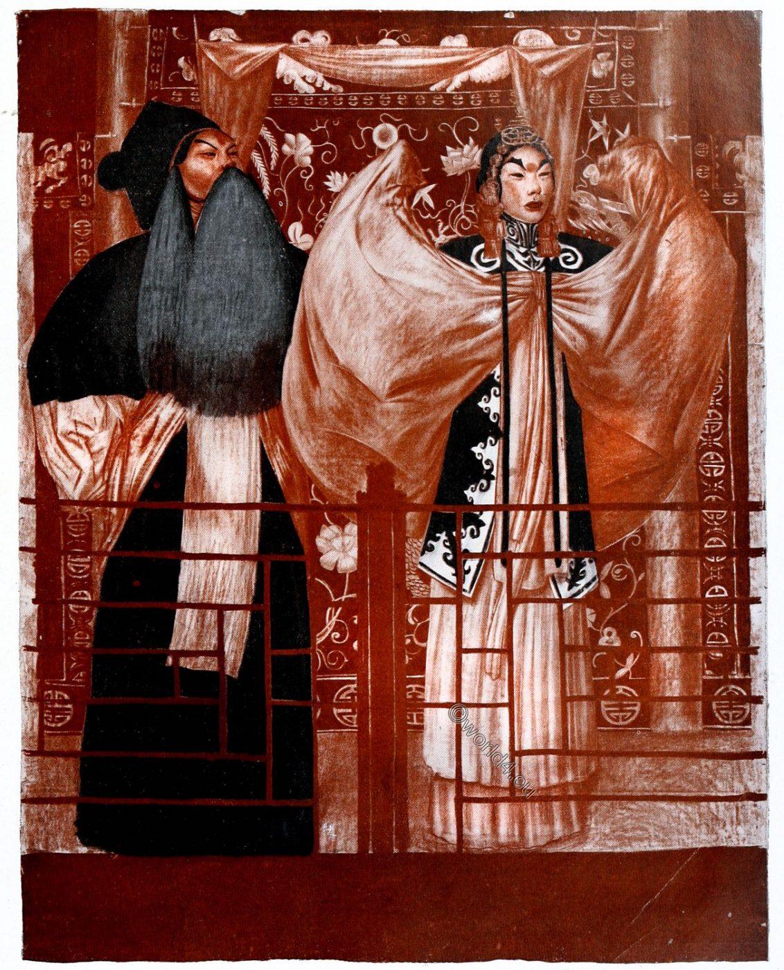China, theatre, opera, art, actors, Alexander Jewgenjewitsch Jakowlew