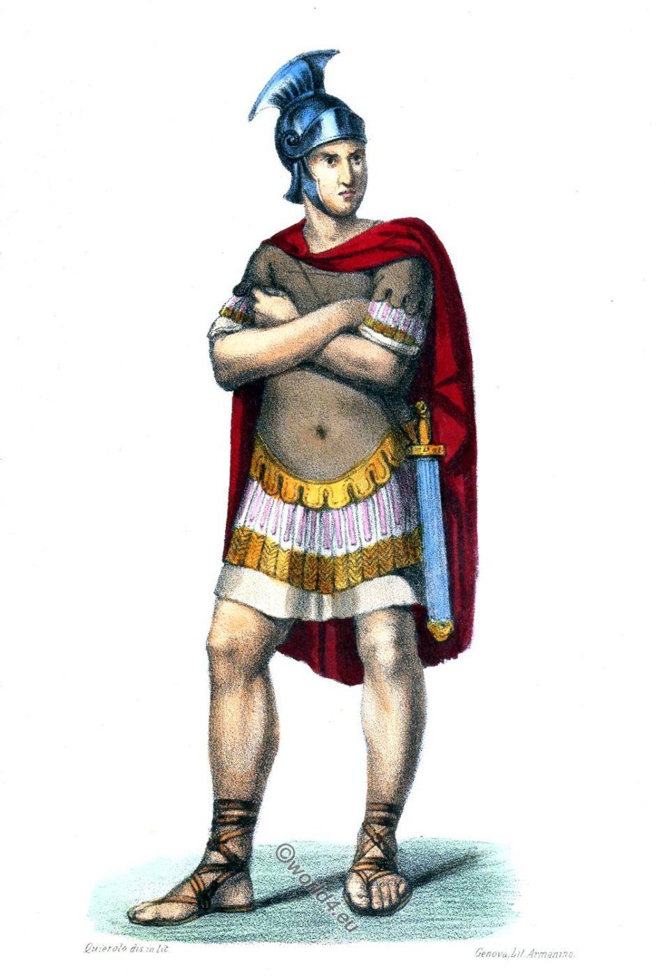 Gaius Mucius Scaevola, Muzio Scevola, Rome, ancient, Roman history, costume, clothing