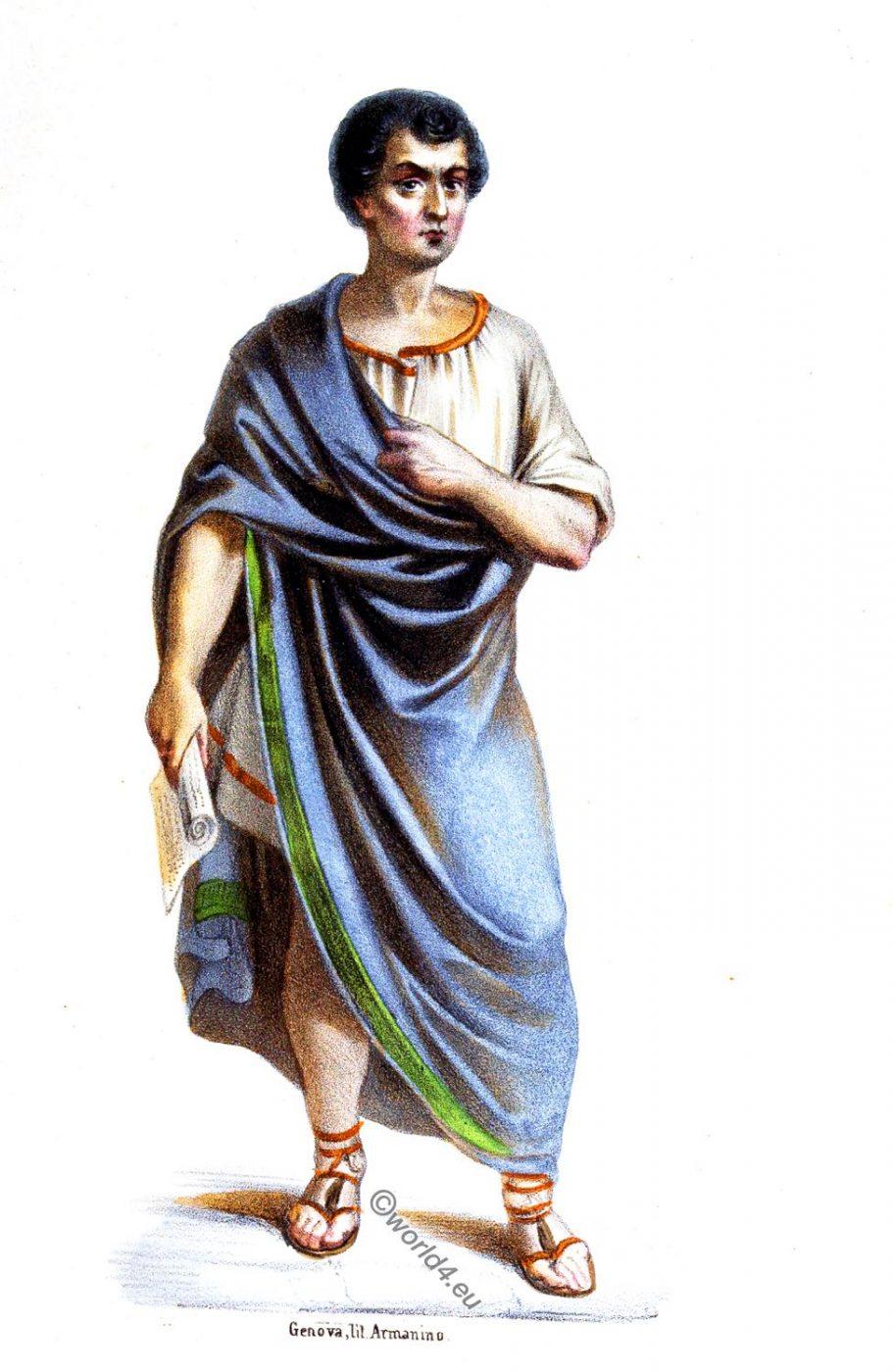 Gaius Sempronius Gracchus, Caio Gracco, Rome, politician, ancient, Roman history, costume, clothing