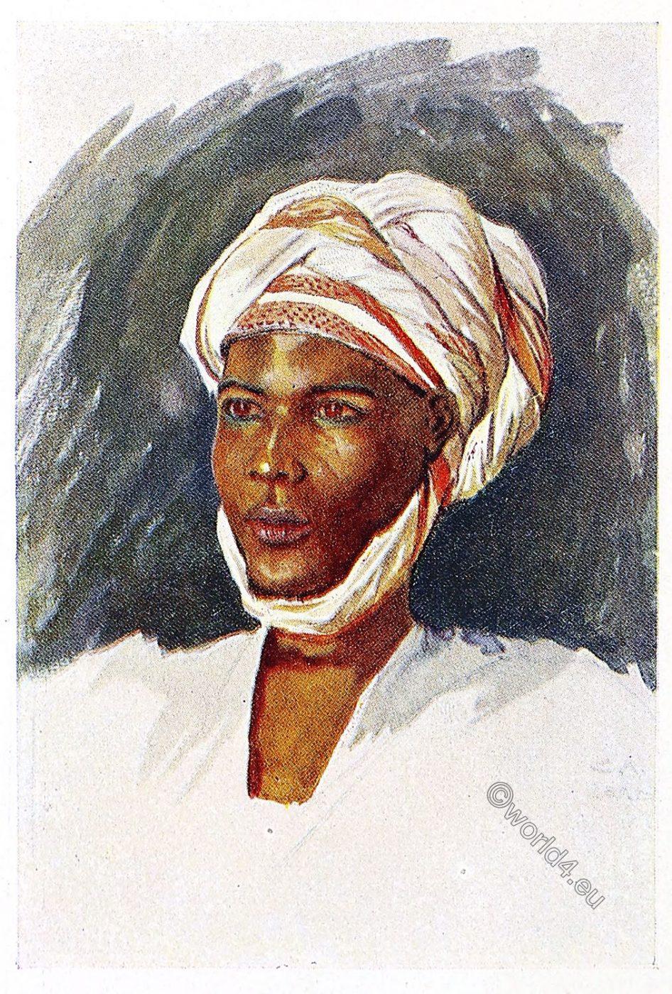 Gober, Africa, costume, Leo Frobenius, clothing, Sudan,