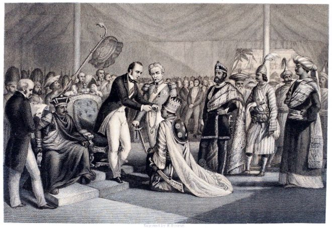 Grand, Durbar, Cawnpore, Sepoy, Revolt, India