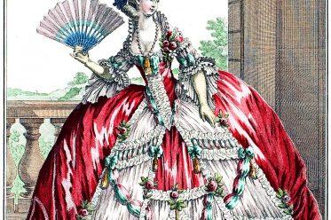 Grand Robe, Rococo, fashion, court dress, versailles