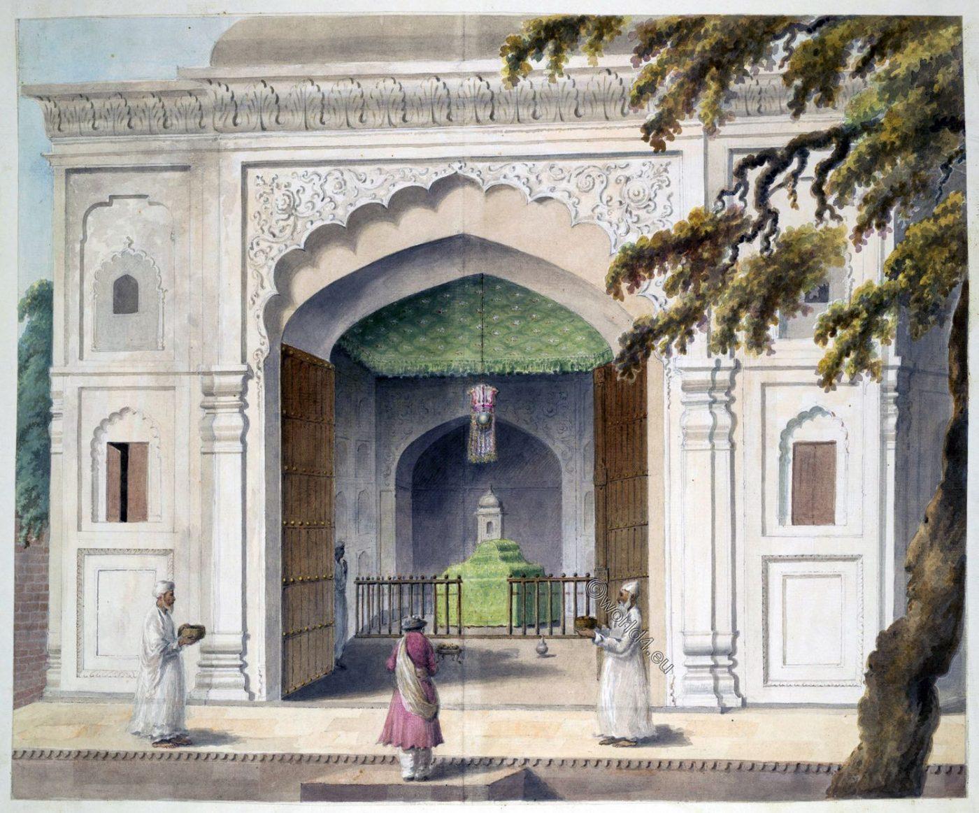 mausoleum, Hafiz Rahmat Khan, India, battle of St. George