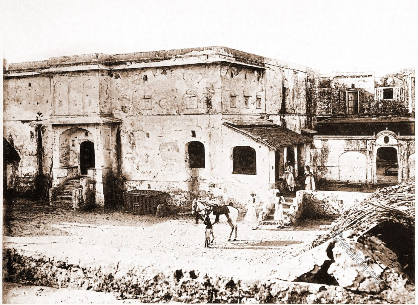 House, Rao Raja Pratap Singh, Alwar, India, Rajput, Rajasthan