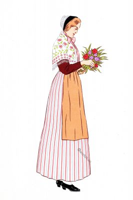 Nancy, Lorraine, France, costume, traditional clothing