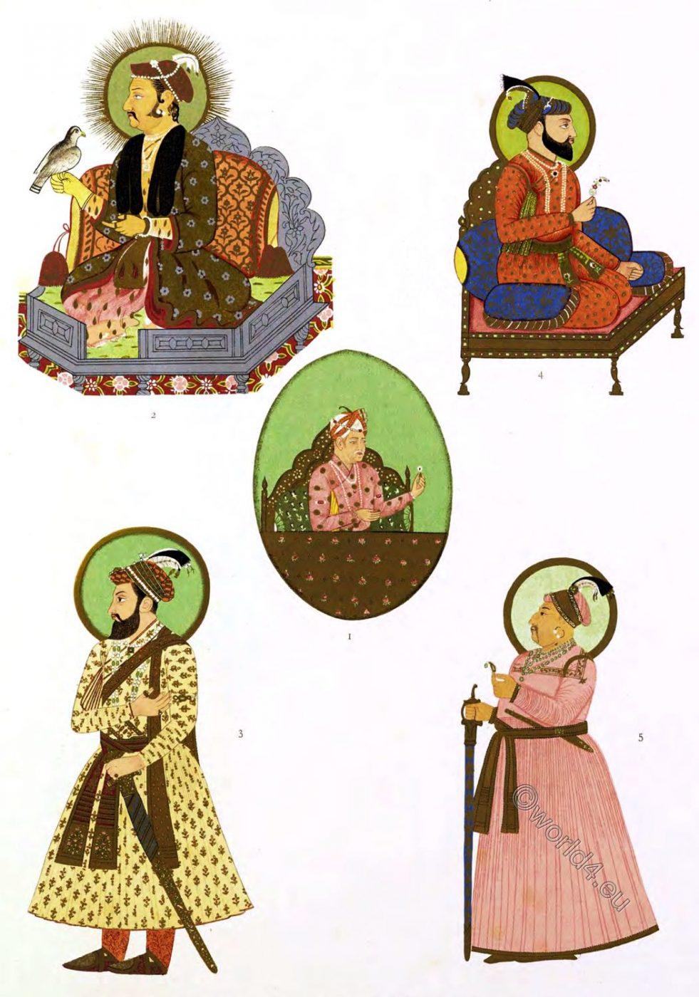 Moghul, emperors, India,