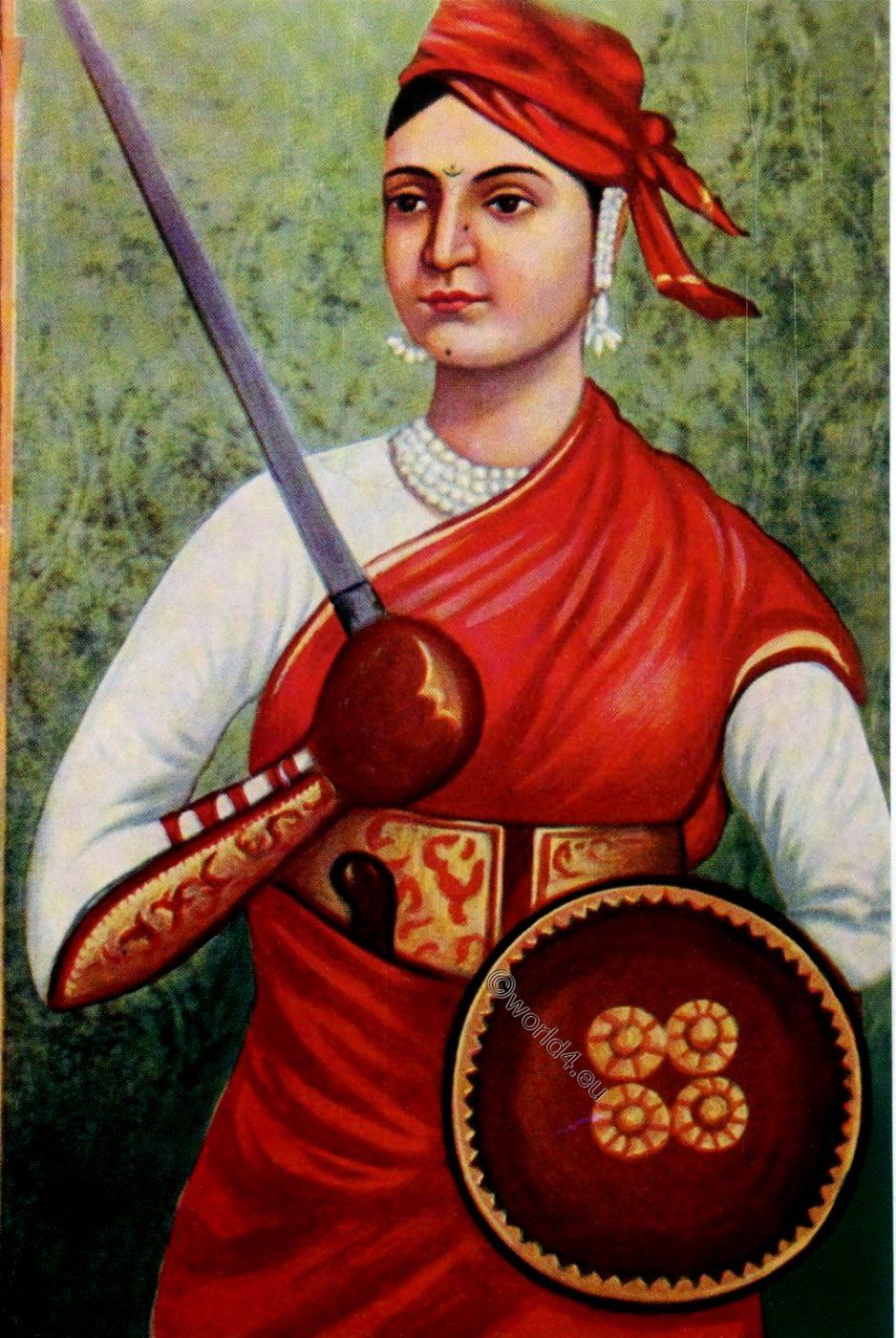 Lakshmibai, Rani, Jhansi, India, uprising
