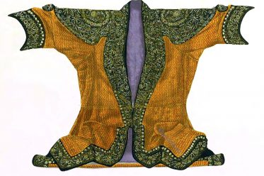 Maharaja, State, Coat, Brocade, India, Rajasthan