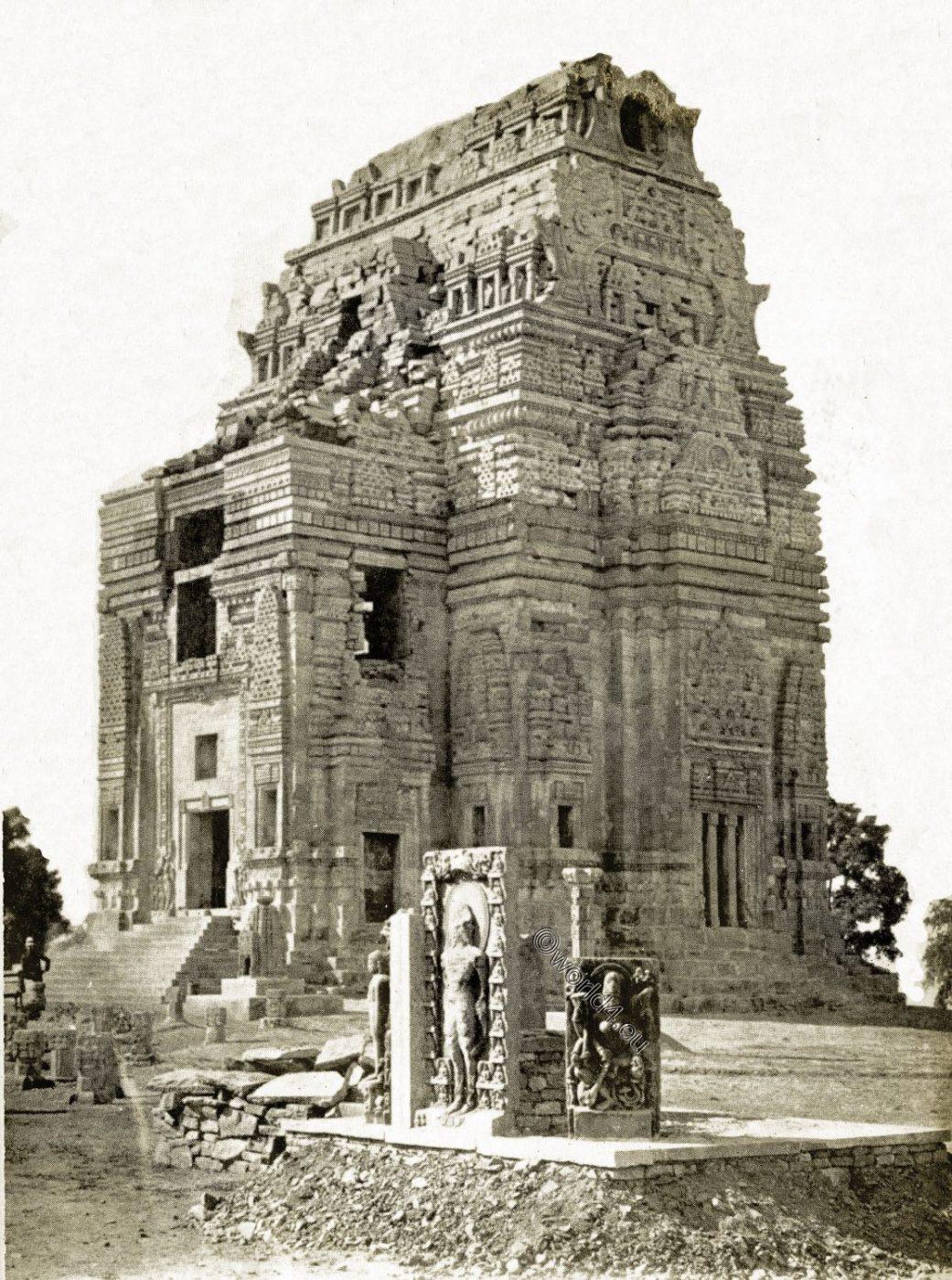 Teli Ka Mandir, Telika Temple, Tali, Mundir, Gwalior, Fort, Madhya Pradesh, India