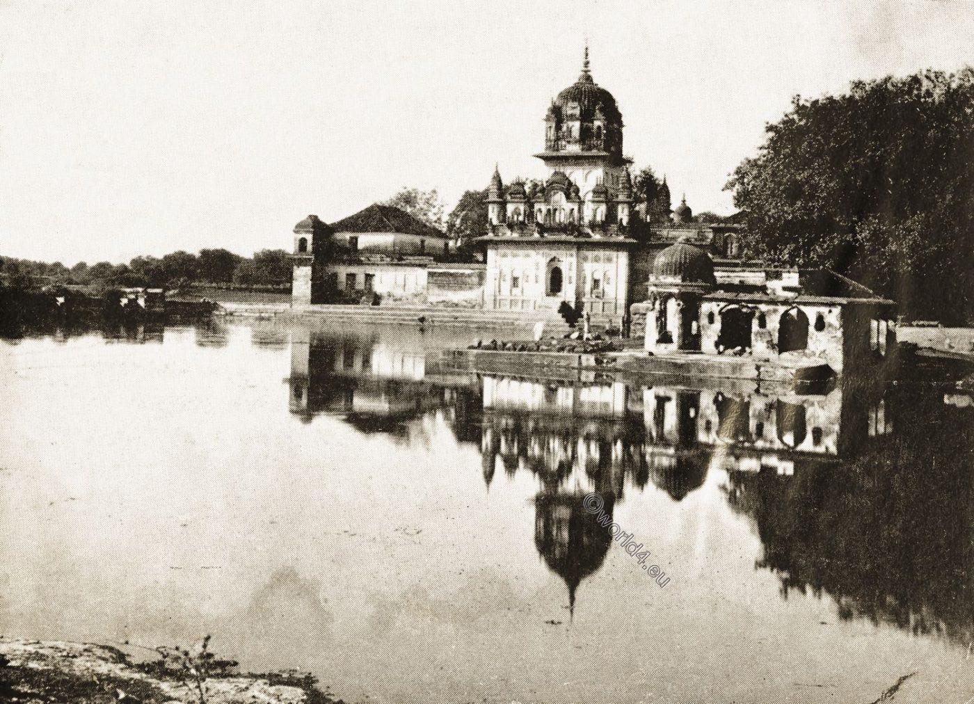 Temple, Jhnasi, India