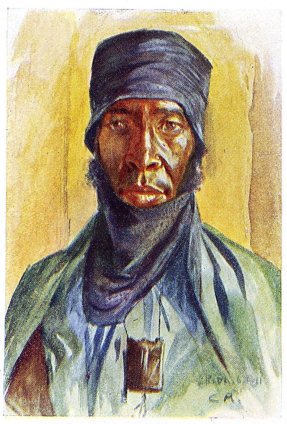 Africa, costume, Leo Frobenius, clothing, Sudan