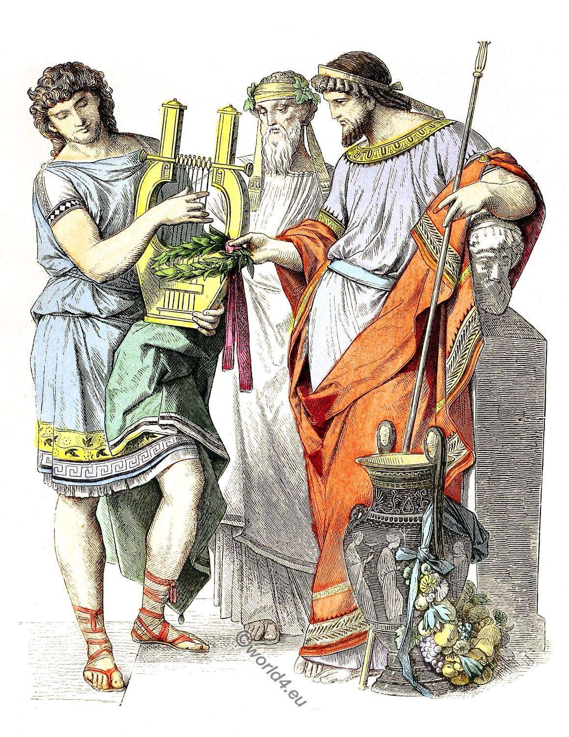 The Ancient Greek Fashion History Clothing In Ancient Greece