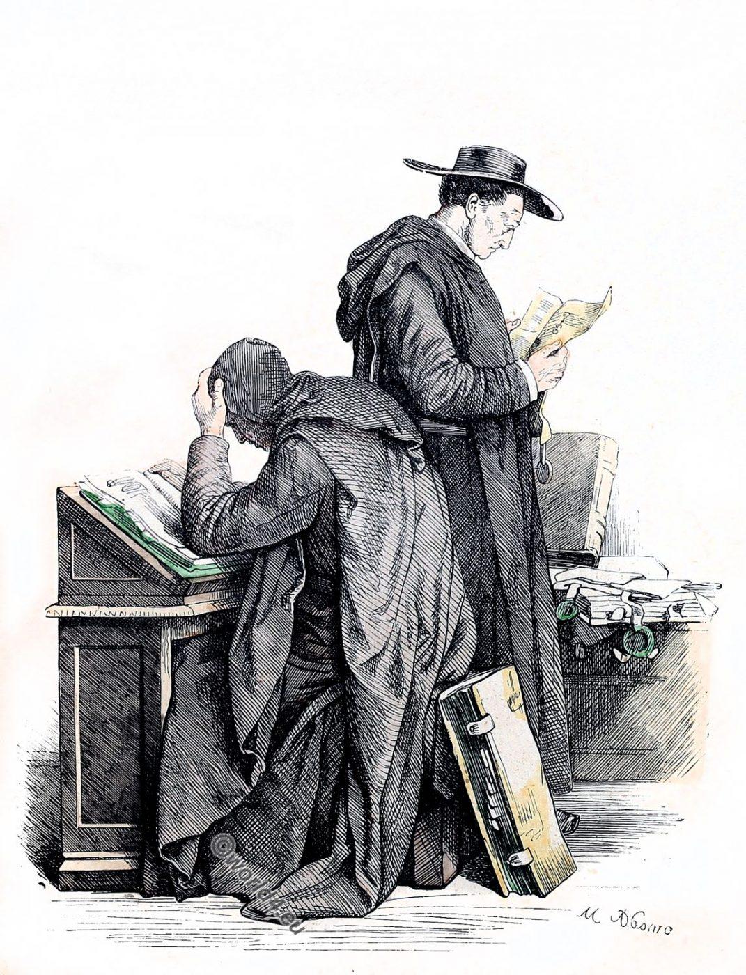 Benedictines, Ecclesiastical habit, religious order
