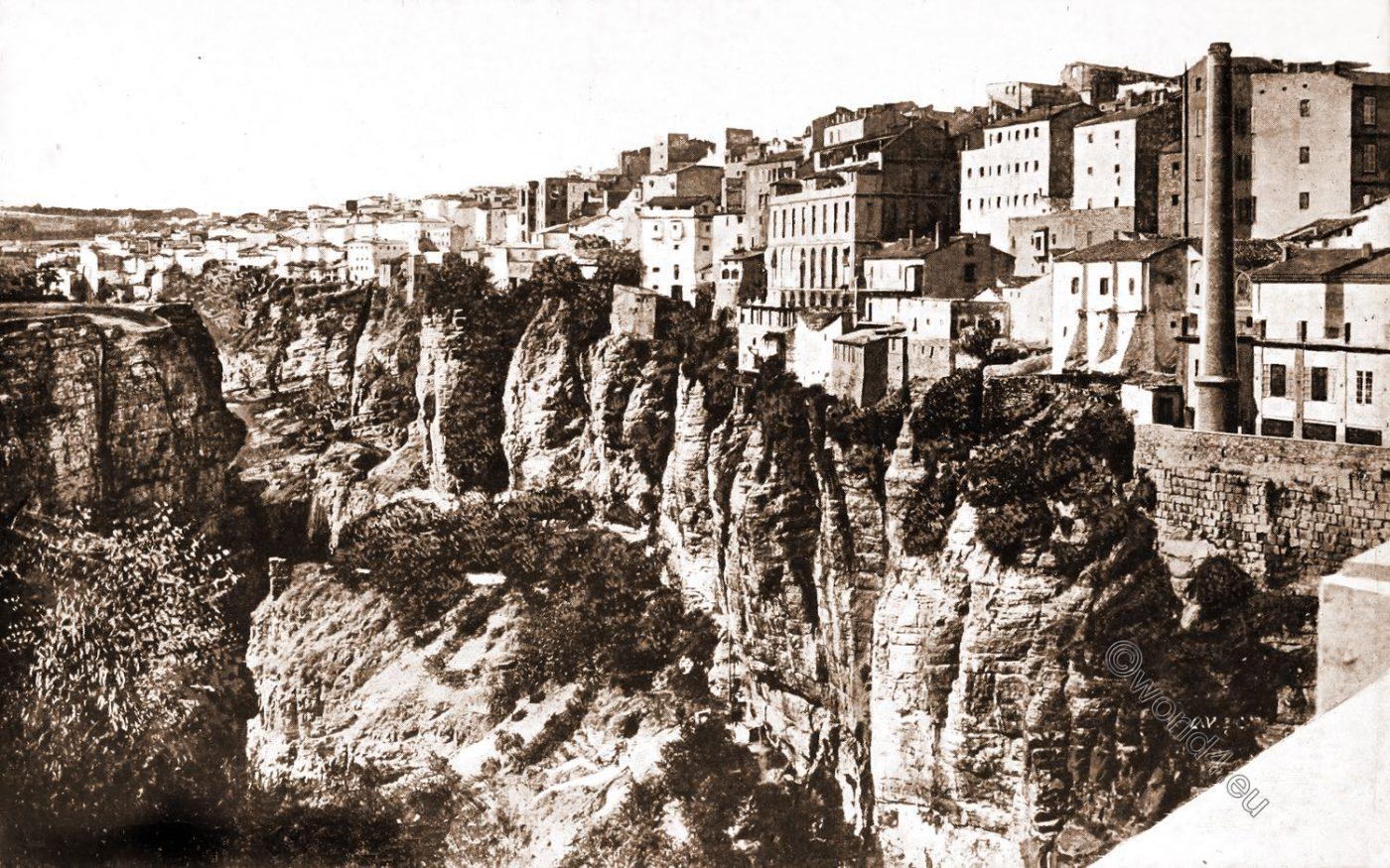 Constantine, Algeria, Historical, view,