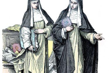 Nuns, Habit, costume, Dominicans, Catholic Order,