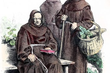 Franciscans, monks, Ecclesiastical habit, religious order, costume,