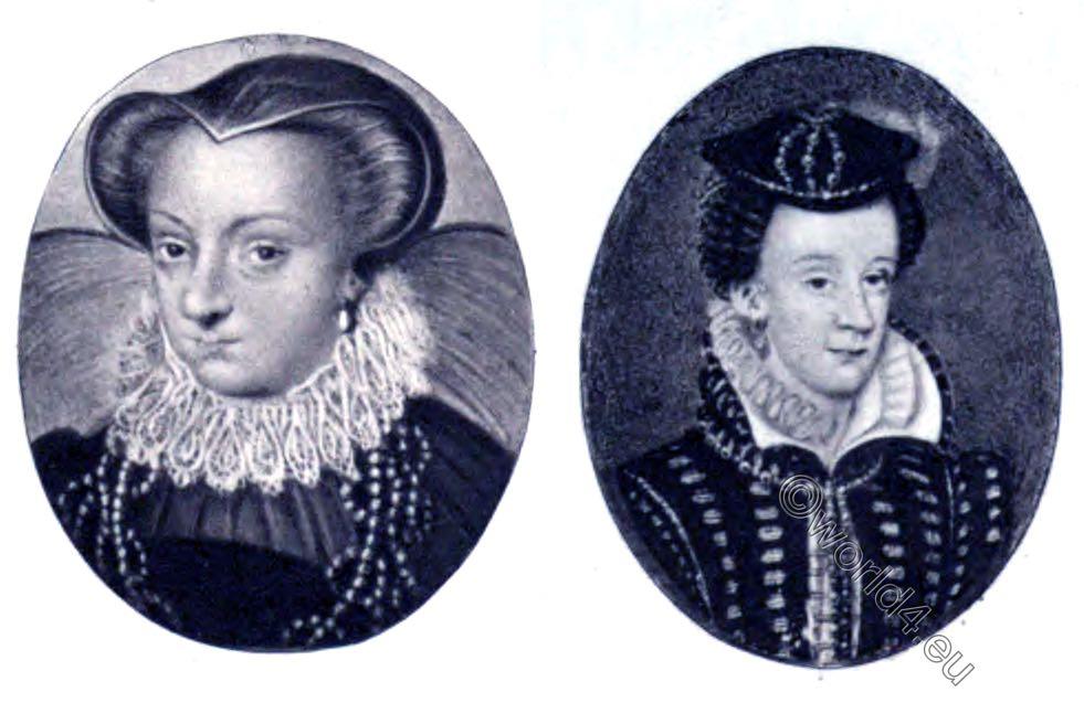 Mary Stuart, miniatures, Uffizi Gallery, Museo Nazionale, Florence,