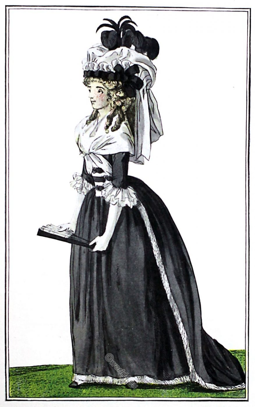 fashion, costume, french, revolution, dress, clothing,
