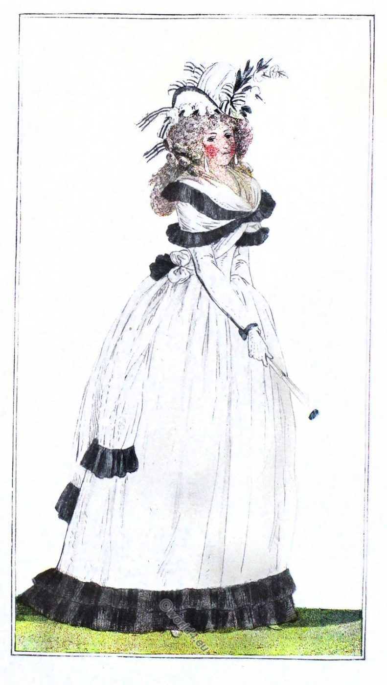 18th century, french, revolution, fashion, costume, dress, clothing,