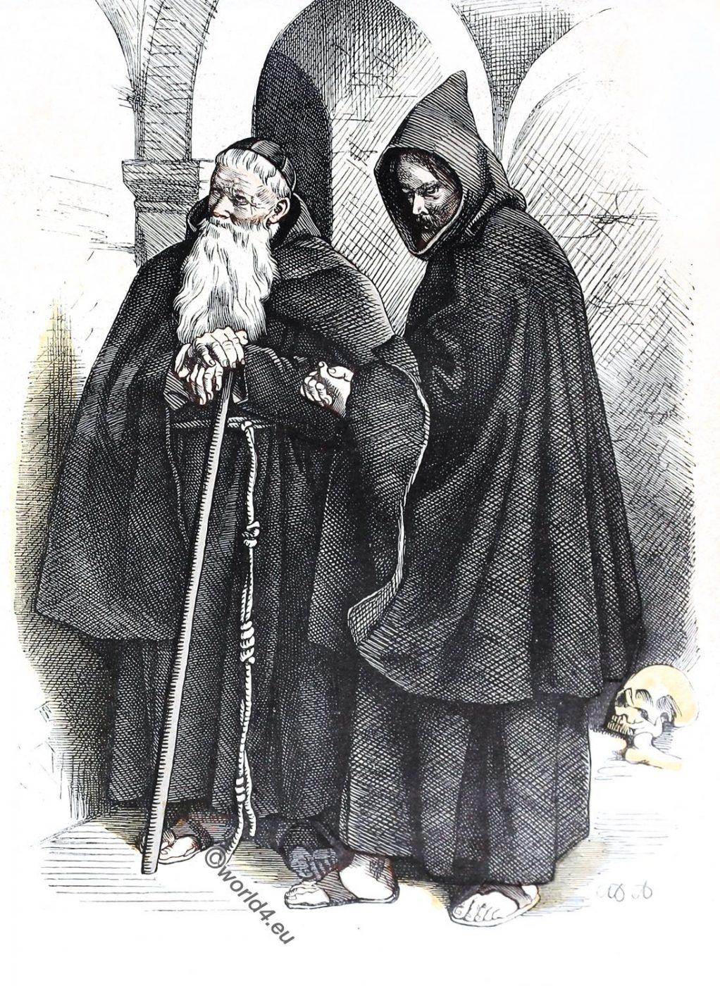 Order, Friars Minor Capuchin, monks, Ecclesiastical habit, religious order, costume,