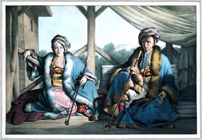 Louis Dupré, Ismail Bey, Mehmed Pasha