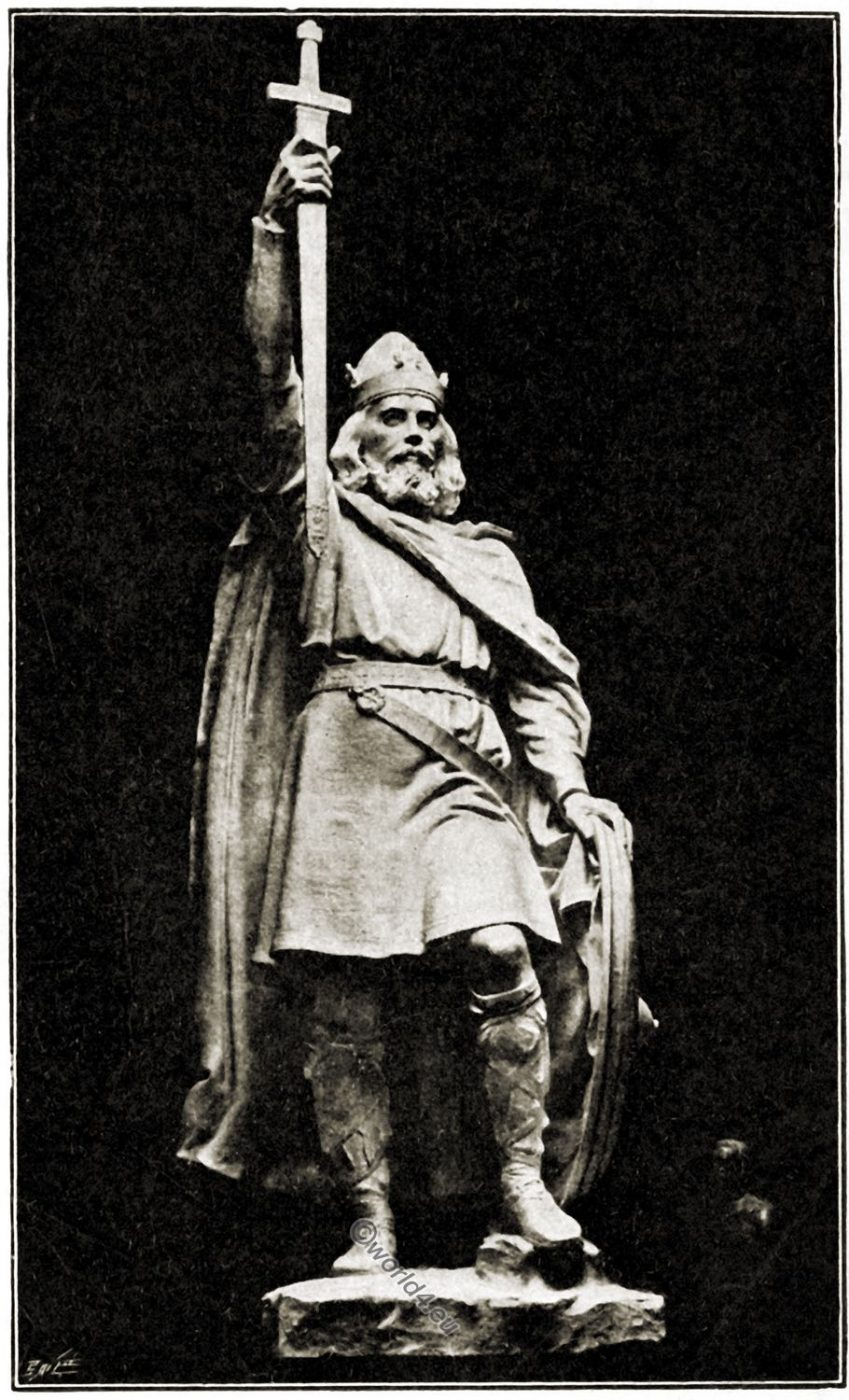 Statue, King, Alfred, Winchester