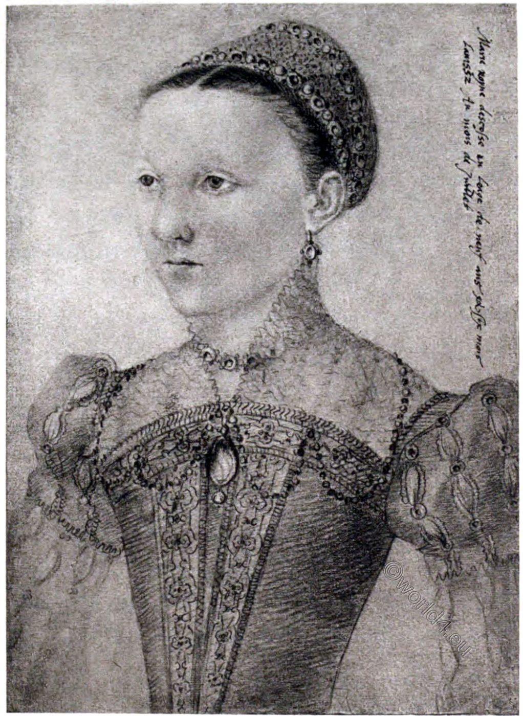 Mary Stuart, child, childhood, Musée Condé, Chantilly