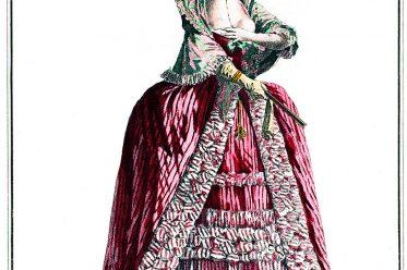 Rococo, Robe, fashion, france, Costumes Français