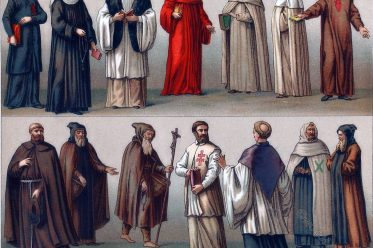 monastic, orders, costumes, habit, monks, nuns,