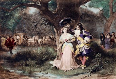 Valliere, Louis XIV, mistress, baroque, costumes