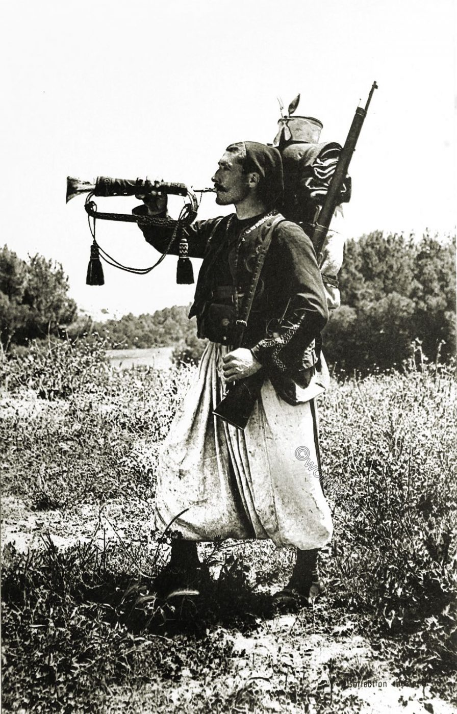Zouave, Algeria, Soldier, France,