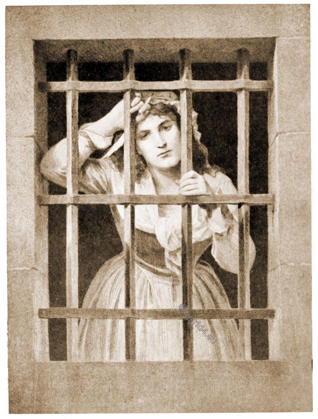 Charlotte Corday, Conciergerie, revolution,