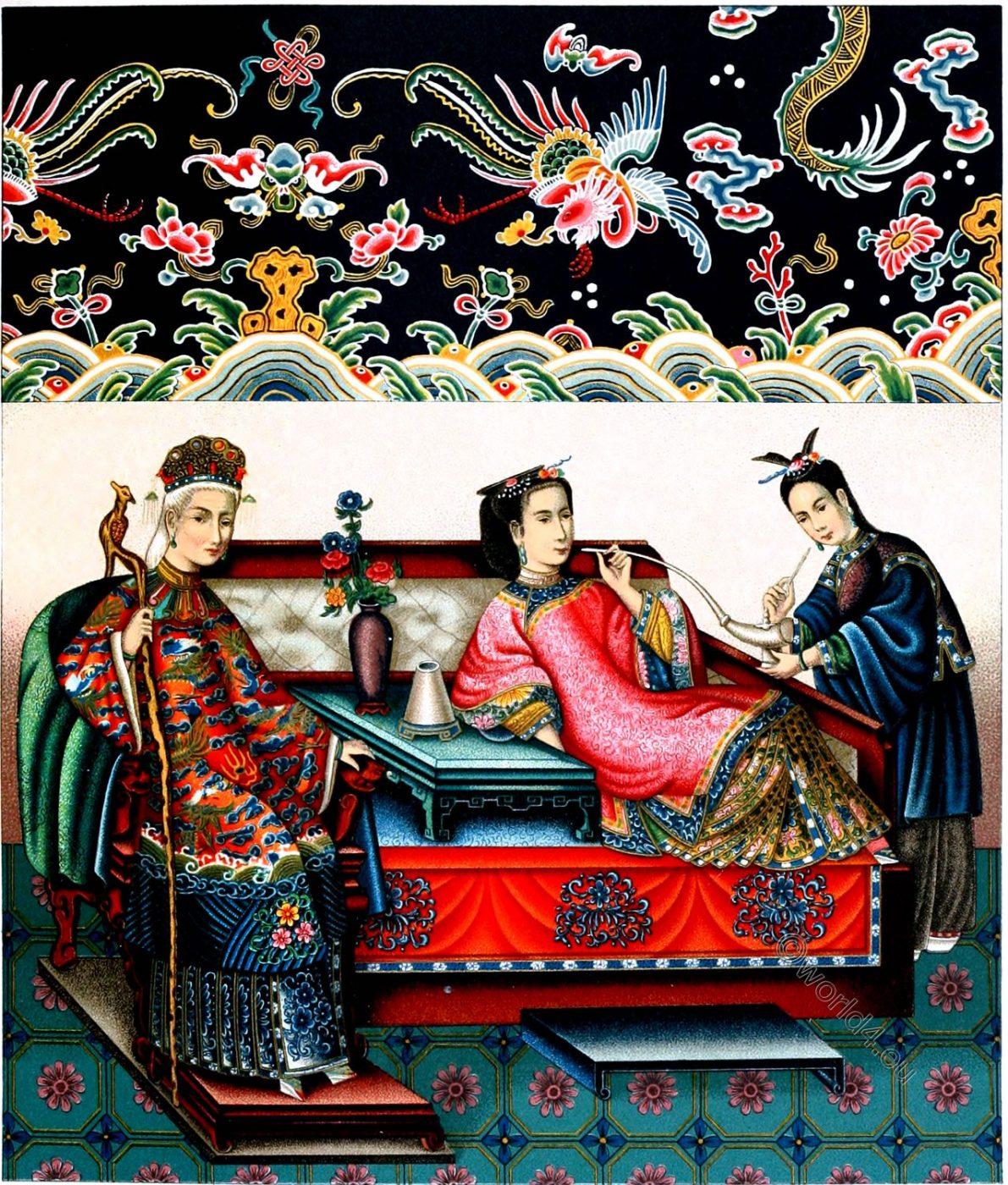 China, empress, concubine, costume, culture