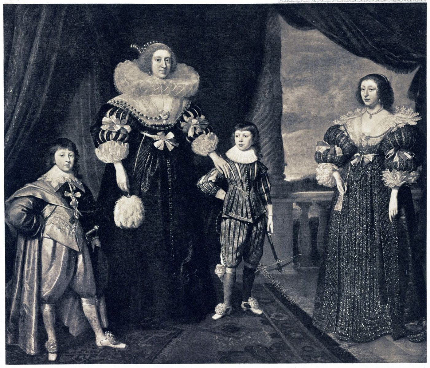 Elisabeth, Bohemia, Children, Winter, Queen, Stuart,