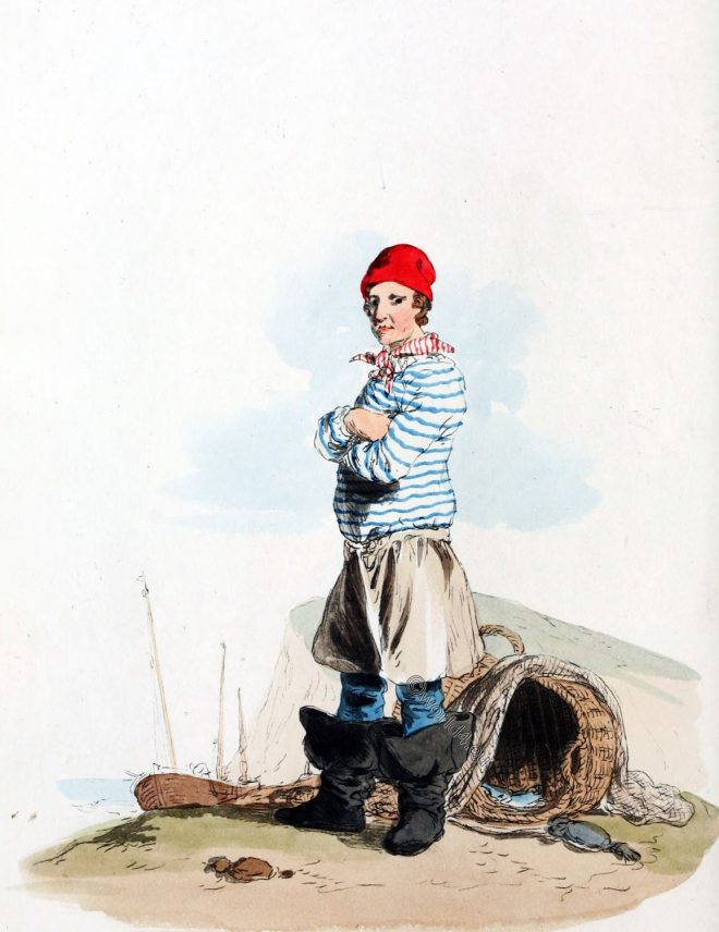 England, Hastings, fisherman, clothing, habit