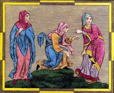 England, Saxon, Ladies, fashion, costumes, middle ages,