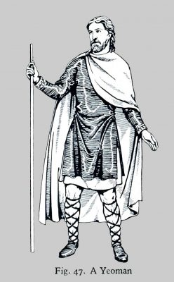 England, Yeoman, middle ages, Norman, costume