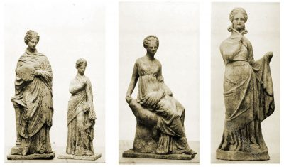 Tanagra, Statuettes, Collection, Camille Lecuyer, Greek, Ancient