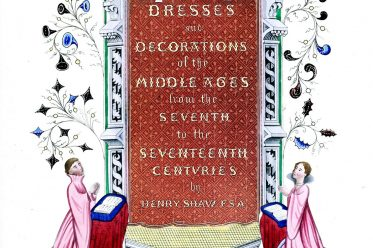 Henry Shaw, Middle Ages, Dresses, Decoration