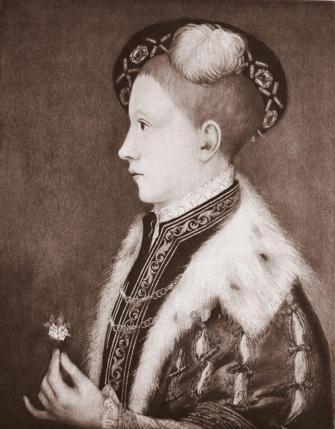 Edward VI, King, Tudor, Holbein,
