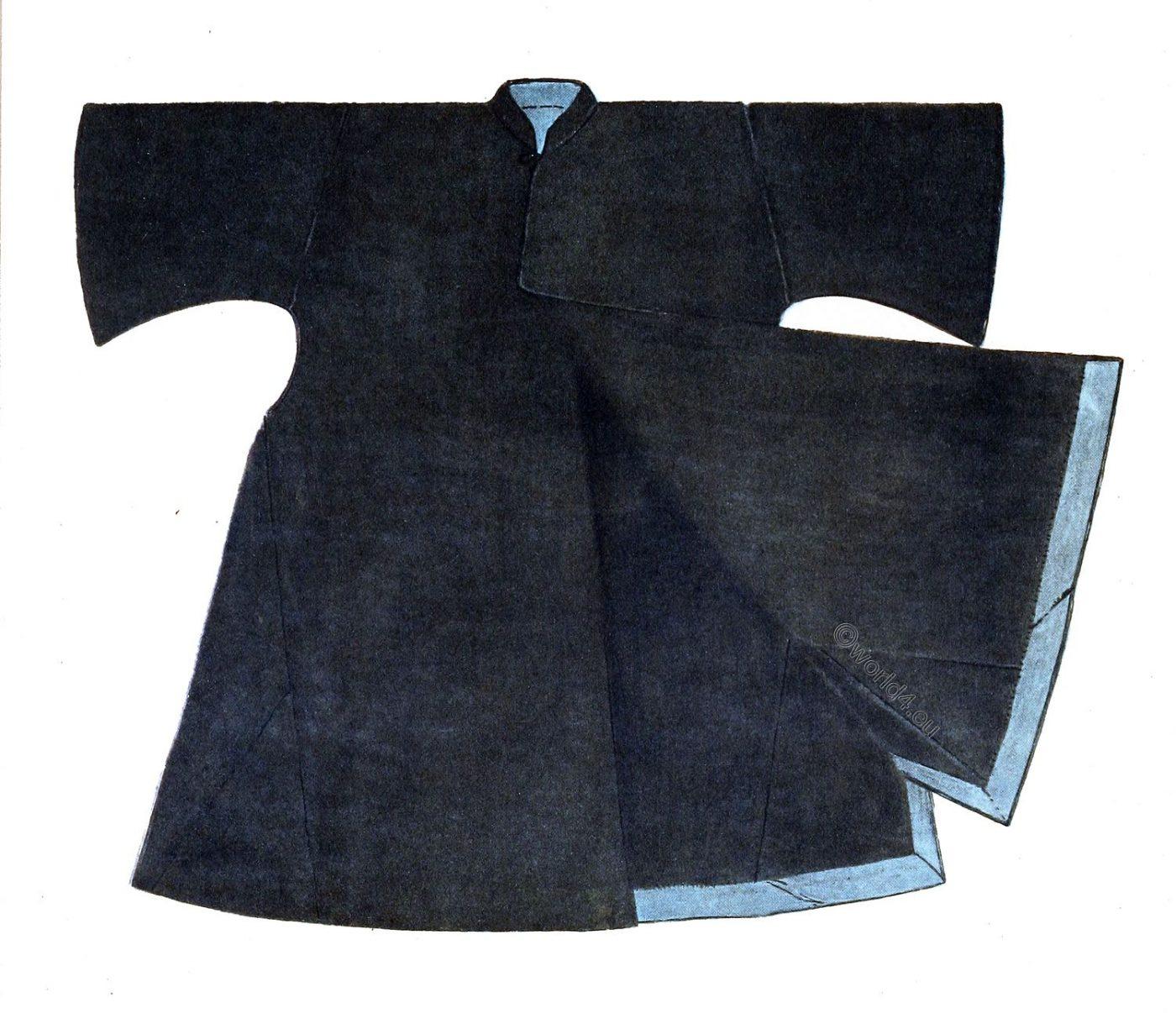 Binish, overcoat, Max Tilke, arabia, egyptian, clothing