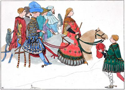 Cavalcade, Italy, Lordship, costumes, Middle ages,