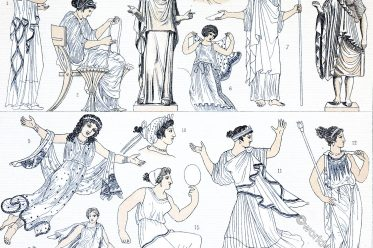 Greece, costumes, Endymata, epiblemata, Antiquity, fashion, chiton, greek, costumes