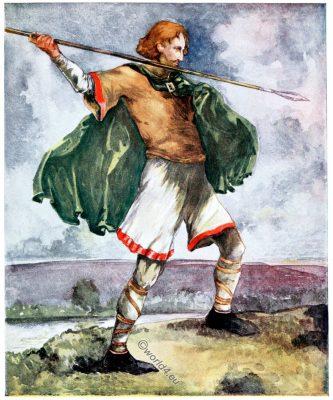 England, medieval, fashion, costume, 11th century,