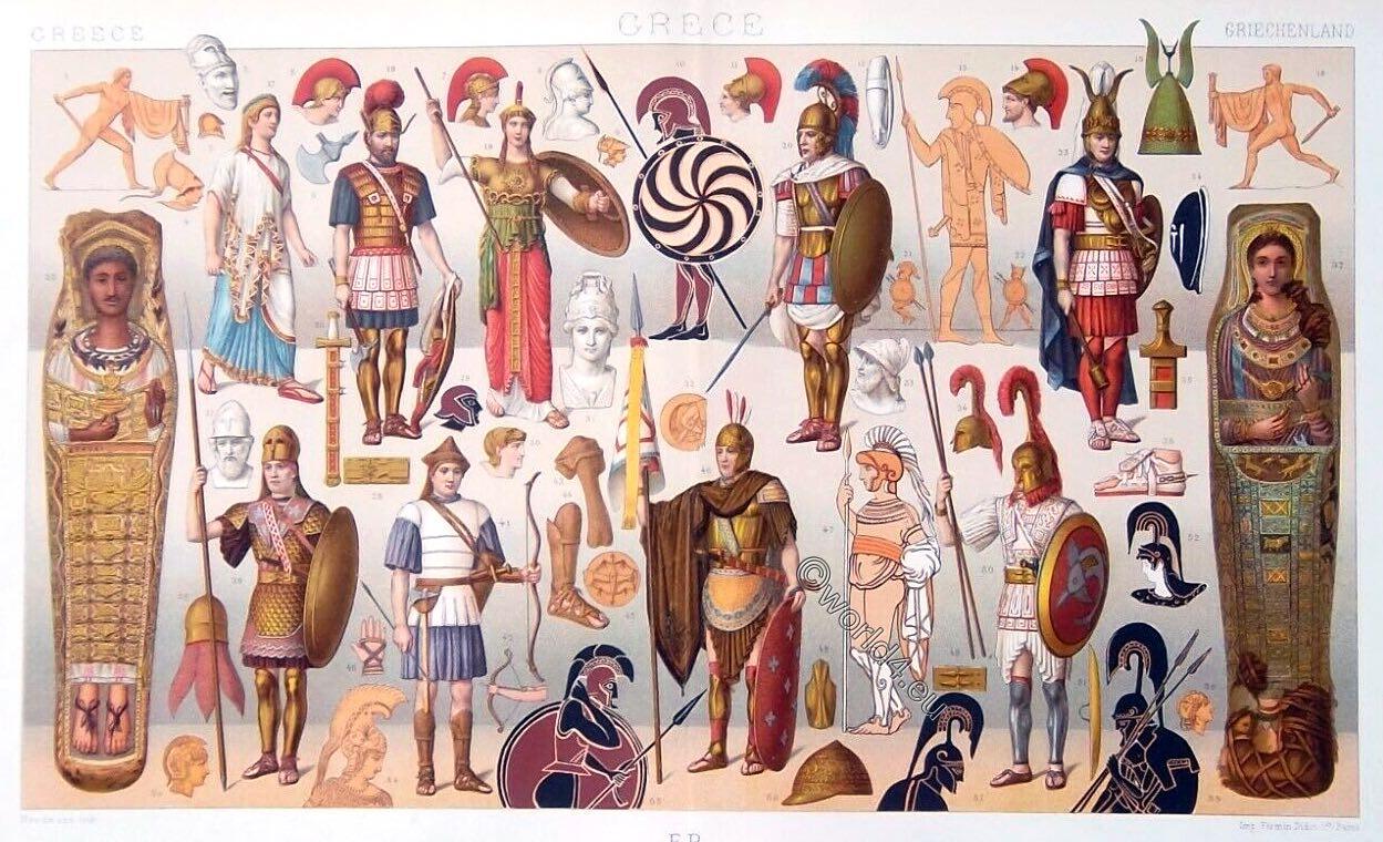 Ancient, Greek, Greece, hoplit, peltast, soldiers, army, heroic