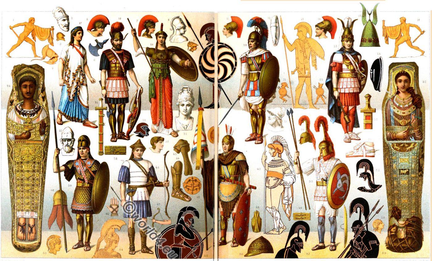 Ancient, Greek, heroic, Warriors, Hoplit, Peltast, Phalangit,