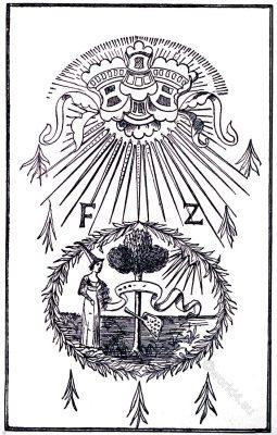 Emblem, Compagnia, Zardinieri, 14th century, Venice, Italy, Renaissance