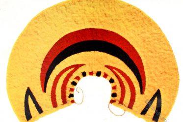 Ahuula, ʻahuʻula, cape, Feather Art, Hawaii, Polynesia, Craft, Native,