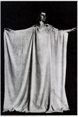 Ancient, robe, Greek, Peplos