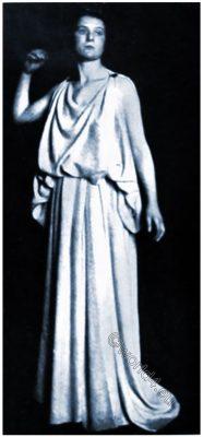 Greek, women, dressed, Goddesses, Hera, Athena